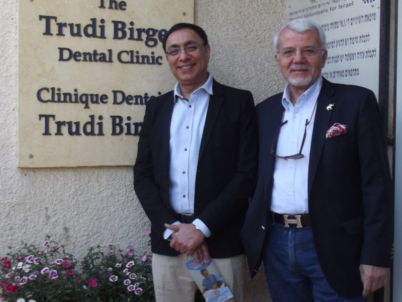 Monty Duggal DDS MDS PhD (UK) and Constantine J. Oulis MSc. PhD (Greece) of the EAPD at DVI