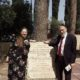 Rav Melchior and Michelle Levin at Trudi Birger Memorial