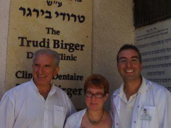 Dr. David Ash, Dr. Charlene Berkman and Dr. Roy Petel