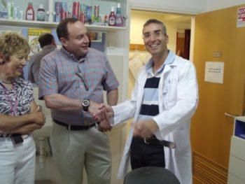 Dr. Joel Berg visit the Dental Volunteers for Israel