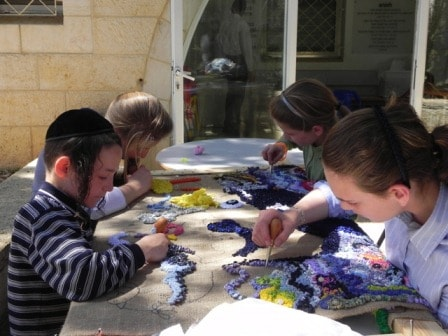 Children at DVI Clinic